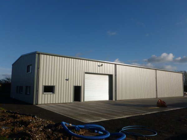 New Build Industrial Building
